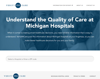 WCMU: New website compares hospital care across Michigan
