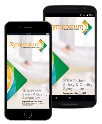 Previews of the Symposium app