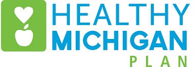 Logo for the Healthy Michigan Plan